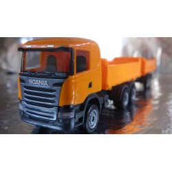 * Herpa Construction 306034  Scania R construction tandem axle dump trailer