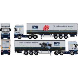 "* Tekno 80464437  Scania R TL curtain canvas semitrailer ""BVB"""