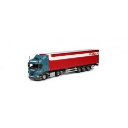 "* Tekno 80464290  Scania R HL Gardinenplanen-Sattelzug ""Planzer"""