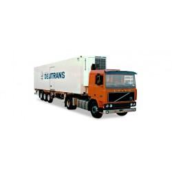 "* Tekno 80469478  Volvo F12 refrigerated semitrailer ""Deutrans"""