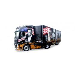 "* Tekno 80468664  Volvo FH GL XL refrigerated semitrailer ""Gesuko / Johnny Cash"""