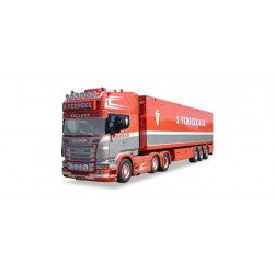 "* Tekno 80465383  Scania R TL Walking floor semitrailer ""Verbeek"""