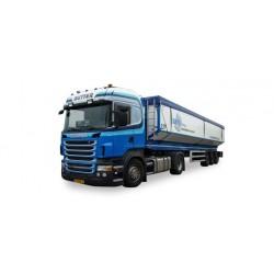 """* Tekno 80467441  Scania R HL bulk cargo semitrailer """"Butter"""""""