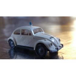 Brekina 25202 VW Beetle White Police / Polizei Vehicle