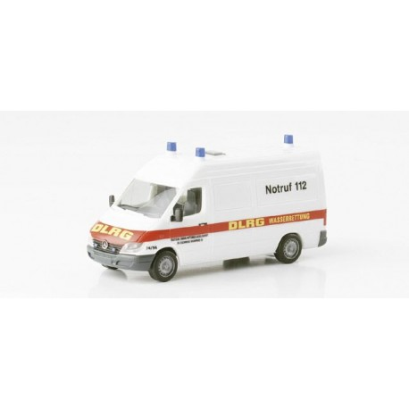 "* Herpa Cars 045490  Mercedes-Benz Sprinter cargo van HD ""DLRG"""