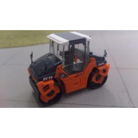* Herpa Construction 154291  Hamm tandem roller DV 90