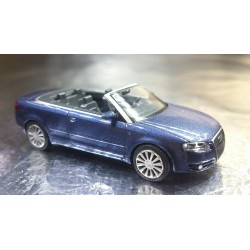 Wiking 1320230 Audi A4 Cabriolet Metallic Finish Car
