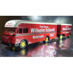 Brekina 57805 Wilhelm Eckardt Lorry and Trailer