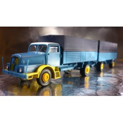 Brekina 71161 IFA H16 Lorry and Trailer With Removable Covers