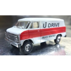 Trident 90123 U Drive Truck Rentals VAN