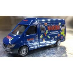 "* Herpa Cars 047128  Mercedes-Benz Sprinter box-type HD ""Haribo"""