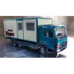 "* Herpa Trucks 156752  Mercedes-Benz box truck ""Circus Krone"""