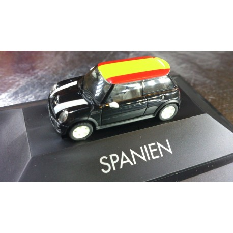 * Herpa Cars 101486  Mini Cooper S™ Spain, PC Box