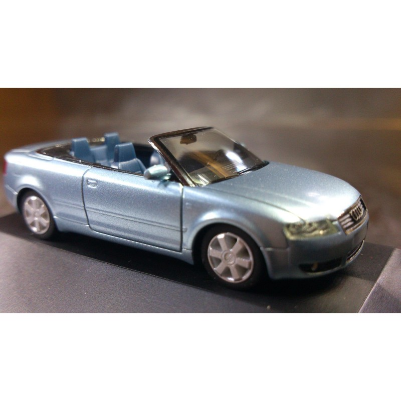 * Herpa Cars 101356 Audi A4 Convertible Car With PC Box
