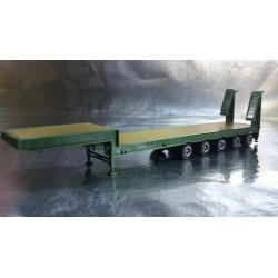 * Herpa Trucks 075879-003  Low Boy Trailer, Oxide Green