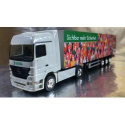 "* Herpa Trucks 288897  Mercedes-Benz Actros LH box semitrailer ""DEKRA"""