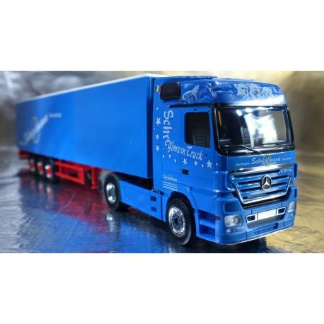 """* Herpa Trucks 154741  Mercedes-Benz Actros LH walking floor semitrailer """"Schreglmann"""""""