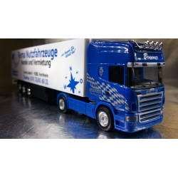 "* Herpa Trucks 155830  Scania R TL box semitrailer ""Brunner"""
