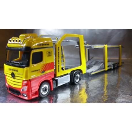 "* Herpa Trucks 305853  Mercedes-Benz Actros Bigspace Eurolohr ""Cartrans"""