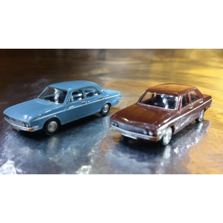 * Herpa Cars (Magic) 451567  Audi 100 2 cars in pack
