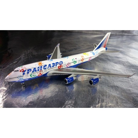 "* 528818  Transaero Airlines Boeing 747-400 ""Flight of Hope"""