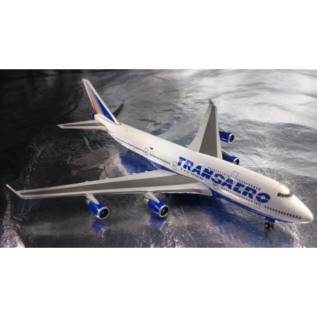 * Herpa Wings 527651  Transaero Airlines Boeing 747-400