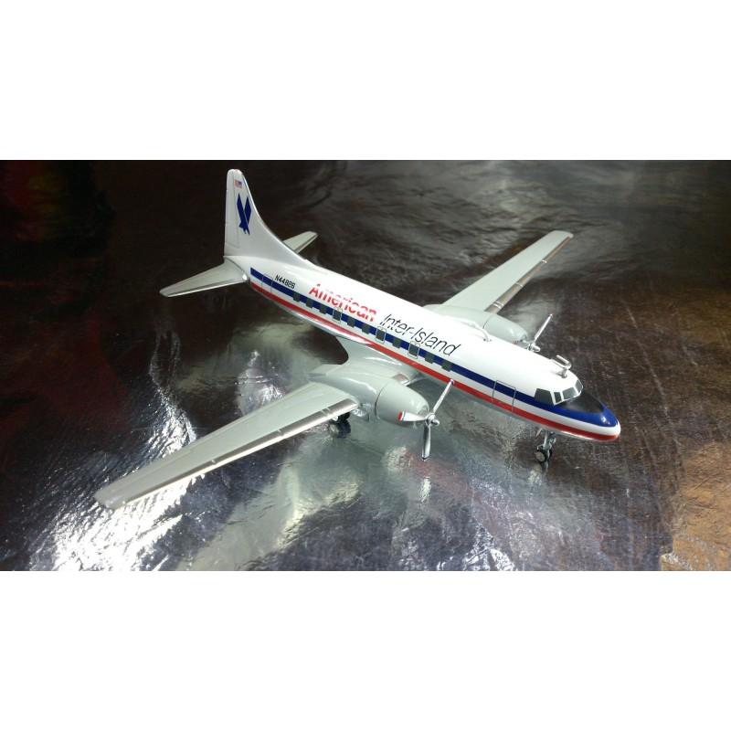 herpa wings 552486 american inter-island convair cv-440 metropolitan -  herpa online