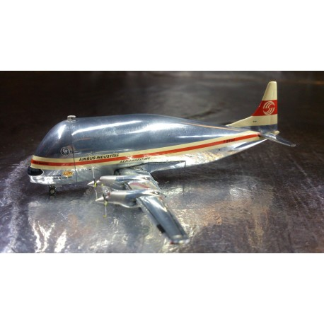 * Herpa Wings 515528  Aéromaritime / Airbus Industrie Aero Spacelines Aero Skylink 377-SGT Super Guppy