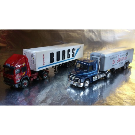 "* Herpa Trucks 157155  Set with two models ""Auf Achse"" Season 2, episodes 33-37"