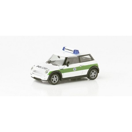 "* Herpa Cars 045735  Mini Cooper ""Police Munich"""