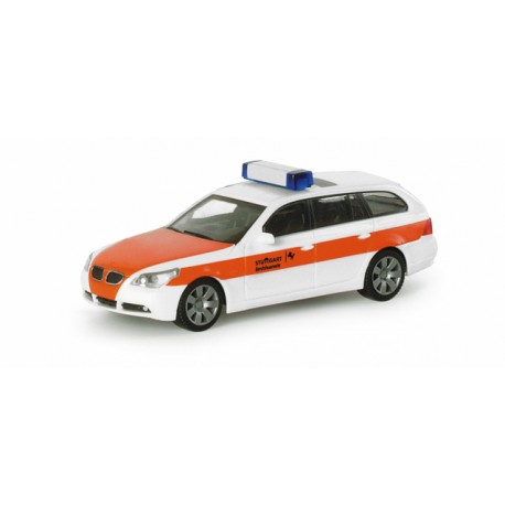 "* Herpa Cars 047470  BMW 5-series touring ™ ""Stuttgart fire department"""