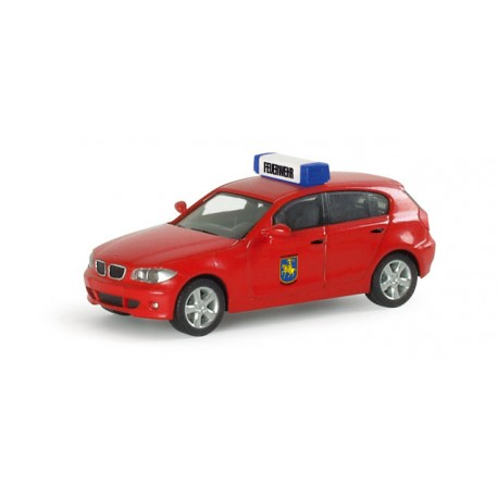 "* Herpa Cars 046794  BMW 1™ ""Schwerin fire department"""