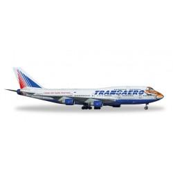 """* Herpa Wings 557917  Transaero Boeing 747-400 """"Amur Tiger"""""""