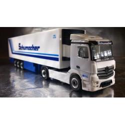 """* Herpa Trucks 302395  Mercedes-Benz Antos M refrigerated semitrailer """"Schumacher"""""""