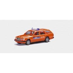 * Herpa Cars 043595  Mercedes-Benz 300 TE Flughafen Frankfurt, FW ELW