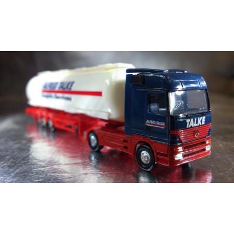 "* Herpa Trucks 065917  Mercedes-Benz Actros LH tank semitrailer ""Talke"""