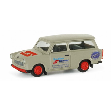 "* Herpa Cars 047555  Trabant 601 S Universal ""Wormser shipping company"""
