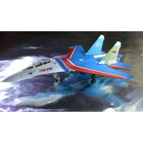 * Herpa Wings 550192  Russian Knights Sukhoi SU-27UB