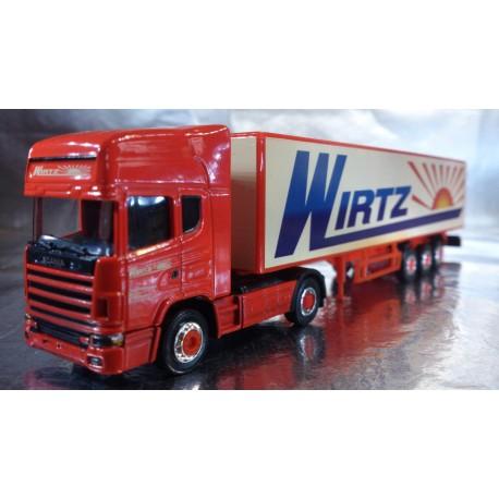 "* Herpa Trucks (Magic) 451024  Scania TL box semitrailer ""Wirtzl"""