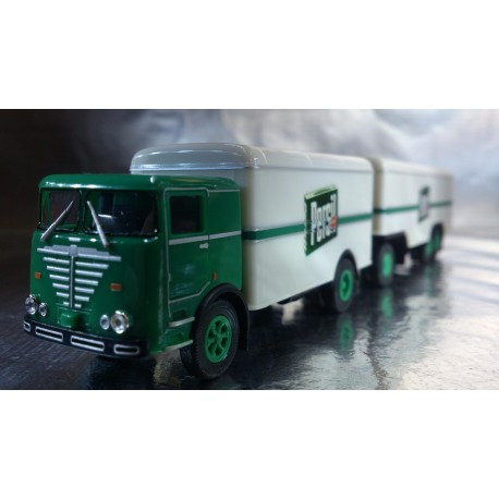 "* Herpa Trucks 155588  Buessing LU 11/16 box trailer ""Persil"""