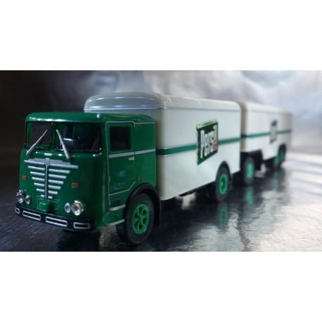 "* Herpa Trucks 155588  Buessing LU 11/16 box trailer ""Persil"""