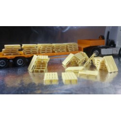 *  Herpa Accessories 052900  Euro palett, 50 pieces in each pack