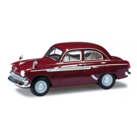 * Herpa Cars 023672-003  Moskwitsch 403, ruby red