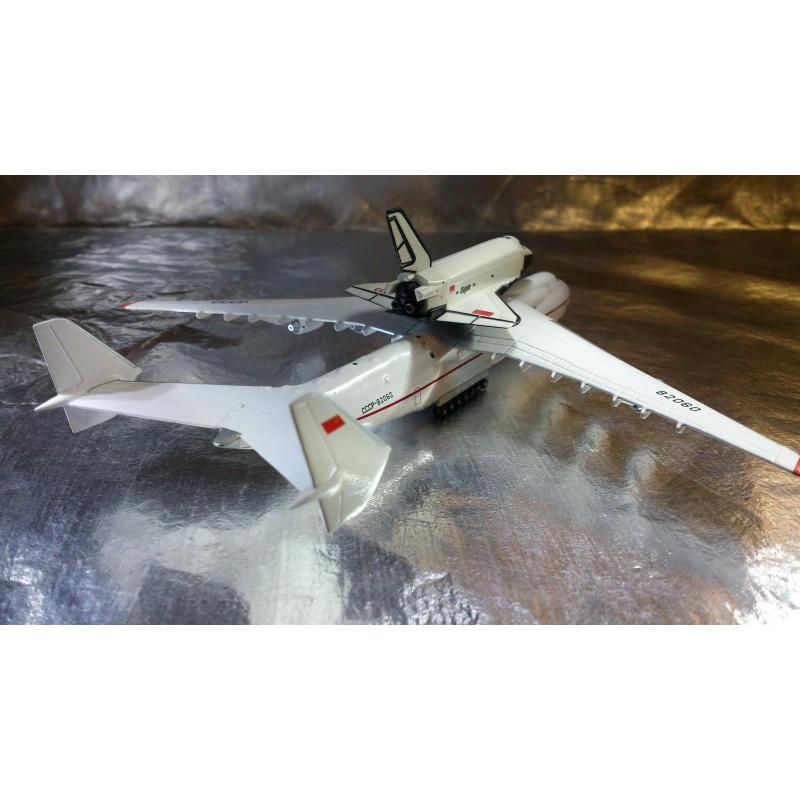 * Herpa Wings 518895 Antonov AN-225 Mriya & Buran Orbiter ...