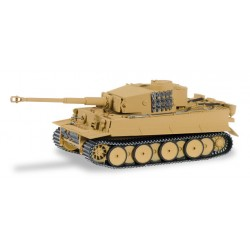 * Herpa Military 745512  German Panzer Divission Tiger Main Battle Tank. Late version, sand beige