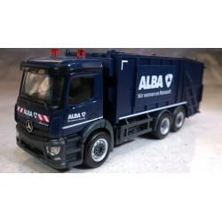 """* Herpa Trucks 306966  Mercedes-Benz Antos garbage truck """"ALBA"""""""