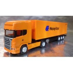 "* Herpa Trucks 066594  Scania R TL container semitrailer ""Hapag Lloyd"""