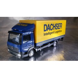 """* Herpa Trucks 307413  Mercedes-Benz Atego canvas truck with liftgate """"Dachser"""""""