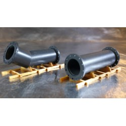 * Herpa 053624  New type Accessories Pipes on a pallet one straight, one angled