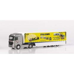 "* Herpa Trucks 149006  Mercedes-Benz Actros LH Safeliner semitrailer ""Macon"""